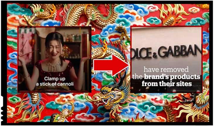 Cum reacționează China la ofensele împotriva culturii sale: produsele Dolce & Gabbana boicotate și eliminate de pe site-urile marilor retaileri, Foto: youtube