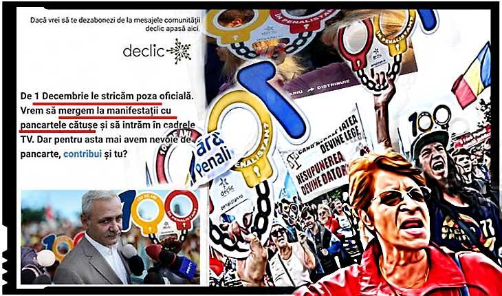 Pe lângă secesioniștii declarați, cu steaguri de doliu, acum apar și Declicii cu proteste de 1 Decembrie? Antiromânii de la Declic vor să strice și sărbătoarea de 1 Decembrie!, Foto: cotidianul.ro