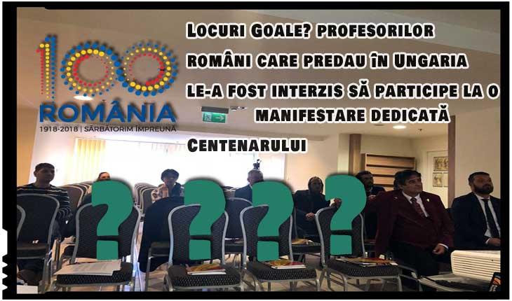 Eugen Tomac acuză guvernul de la Budapesta că nu lasă profesorii români sa participe la manifestări dedicate Centenarului!, Foto: facebook.com/eugen.tomac