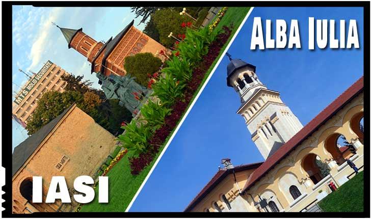 """În An Centenar, Parlamentul României a declarat municipiul Iaşi """"Capitală istorică"""", iar municipiul Alba-Iulia """"Capitală a Marii Uniri""""!"""