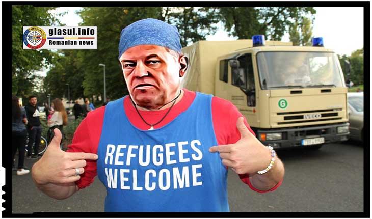 Iohannis urmează linia stabilită de Merkel și își deschide și el larg brațele pentru migranți!