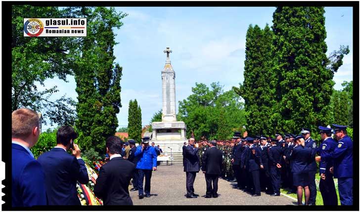 Monumentul Eroilor din Primul Război Mondial din Iași va fi reabilitat în cadrul unui program dedicat Centenarului Marii Uniri