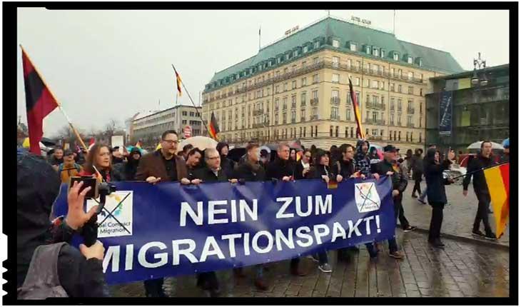 Revoltător! O petiție împotriva Pactului pentru Migrație a fost boicotată luni de zile în Parlamentul german, Foto: youtube