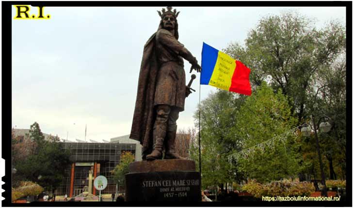 A fost dezvelită prima statuie a domnitorului Ştefan cel Mare din Bucureşti, Foto: razboiulinformational.ro