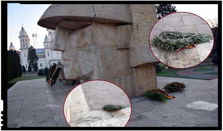 """Monumentul din Carei, vandalizat de derbedei? Mostră de """"autonomie specială""""?"""