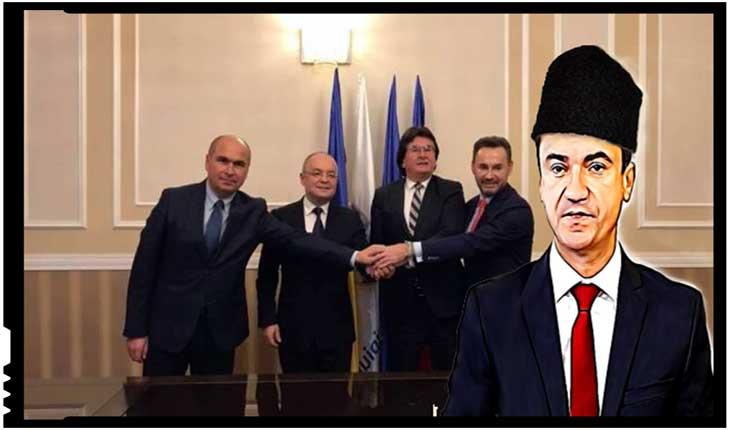 Cameleonicul primar al Iașului dă și el târcoale trădătorilor din Alianța Vestului, Foto: justitiarul.ro