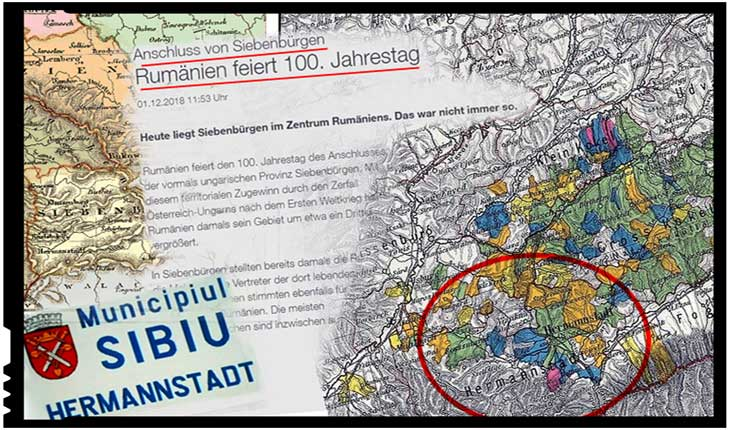 """Germania se pune în slujba propagandei maghiare: """"România sărbătorește 100 de ani, aniversare a anexării fostei provincii maghiare a Transilvaniei"""""""