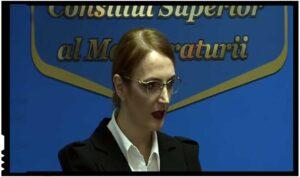 """Lia Savonea, noua șefă a CSM: """"Independența nu poate și nu trebuie să servească nimănui drept scut pentru a încălca legea"""", Foto: Digi 24"""