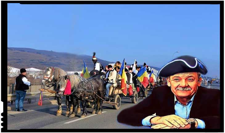 """Asociația NeamUnit: """"Rușine să vă fie, domnule Mircea Hava! Dacă vă plac mai mult uniformele austriece decât portul tradițional românesc, de ce nu ne lăsați, și vă mutați la Viena? """", Foto: facebook.com/Neamunit"""