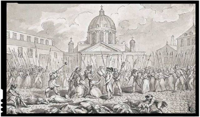 35 de femei ucise în timpul masacrelor din 1792 din Franța
