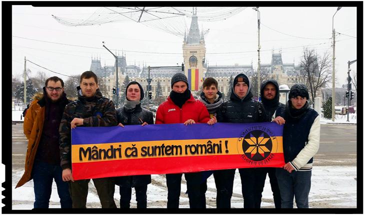 Renaște naționalismul la IAȘI: Comunitatea Identitară și Frontul Patrioților Români au sărbătorit 160 de ani de la Unirea Principatelor