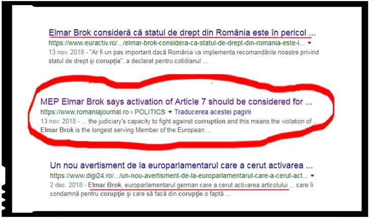 Dar cine este cu adevărat Elmar Brok, și cât de neprihănit este el de a dus de-a lungul anilor o sfântă luptă și mânie împotriva unei presupuse corupții a românilor?