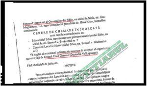 Tupeu inimaginabil: cei care s-au erijat în succesorii Deutsche Volksgruppe in Rumänien reclamă românii la CNCD, Foto: Justitiarul.ro