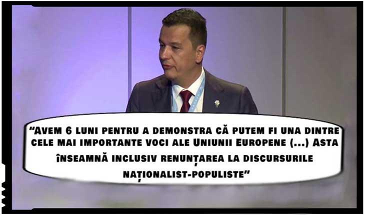 Alt sclav globalist! Sorin Grindeanu le cere românilor să renunțe la naționalism, Foto: youtube