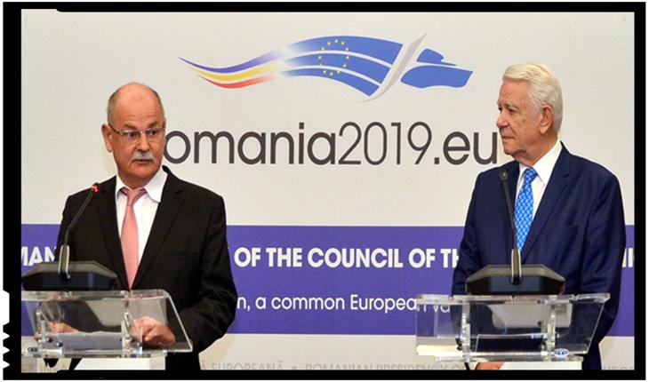 Andreas Huber, finul lui Iohannis și consul onorific al Austriei, a semnat azi protocol cu MAE, Foto: mae.ro