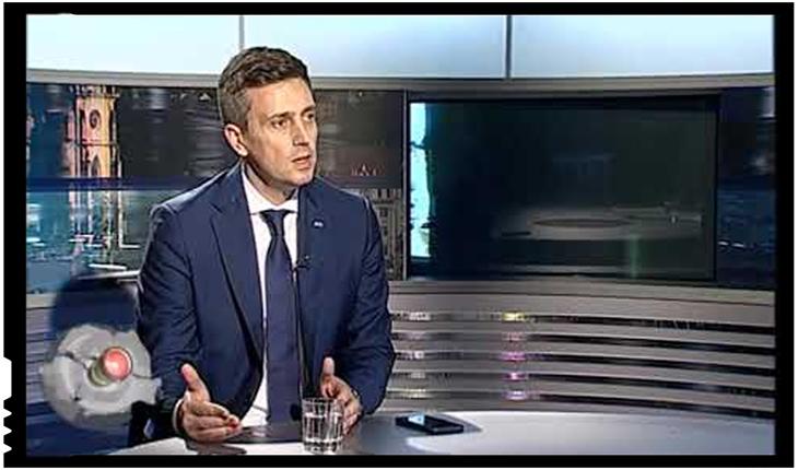 """Cătălin Ivan: """"UDMR este în afara legii. Activitatea sa este una împotriva statului român"""", Foto: TVR Cluj"""