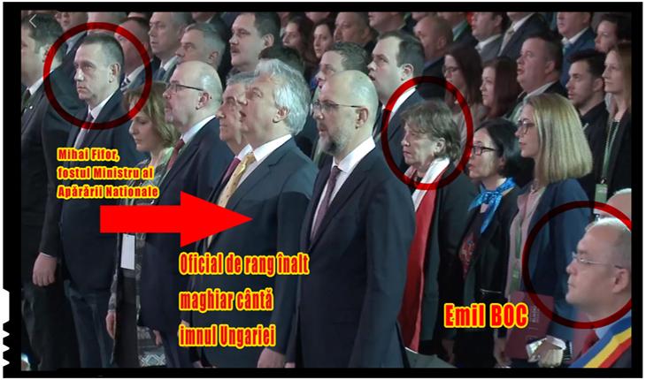 Pe cine am avut ca ministru al apărării? Fifor a asistat impasibil la congresul UDMR la 3 imnuri străine, fără prezența imnului României, Foto: facebook