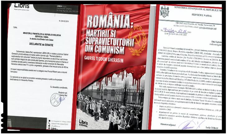 Cenzură de cărți românești donate pentru școlile din R. Moldova la vama Moldovei