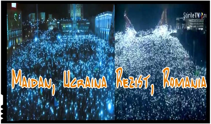 """Presa ucraineană: Revoluția ucraineană din 2013-2014 a repetat complet scenariul """"Revoluției Române"""" din 1989"""