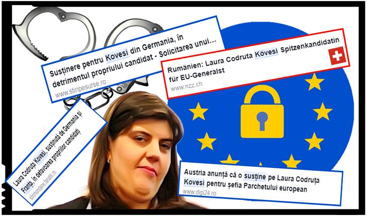 Se îngrămădesc diferite țări s-o susțină pe Kovesi la Parchetul European. Acum știm clar pentru cine a lucrat Luluța!