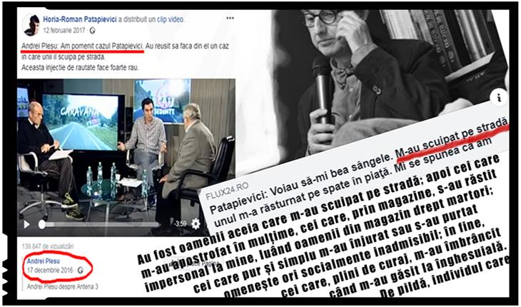 Patapievici, Pleșu & comp, își plâng de milă unii altora pe facebook, pentru că-i scuipă și înjură lumea pe stradă. Oare, de ce?