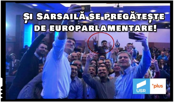 Și Sarsailă se pregătește de europarlamentare!, Foto: facebook