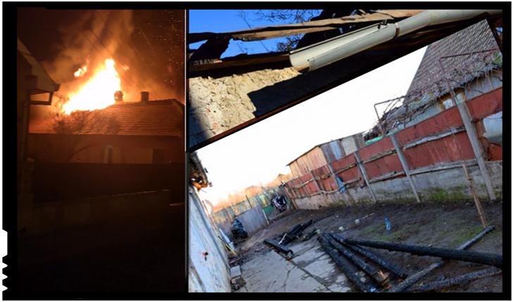 Exemplu de solidaritate românească la Carei în urma unui incendiu în plină iarnă, Foto: Buletin de Carei