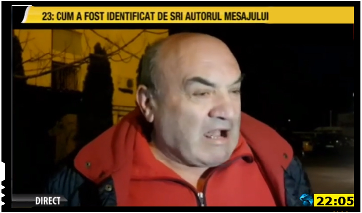 Ioan Alexandru Tătar, fost jurnalist, Foto: Romania TV