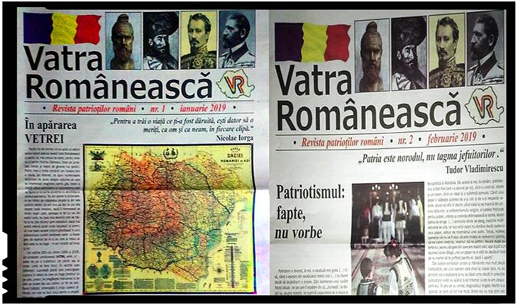 O nouă publicație patriotică în România: Vatra Românească, Foto: facebook.com/profile.php?id=100009270672021