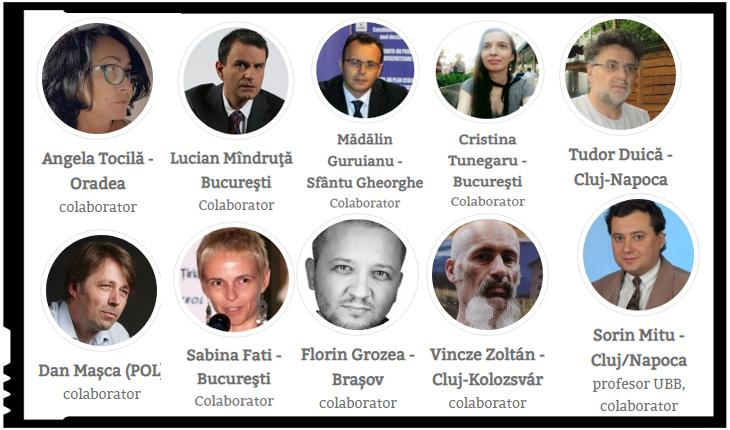 Lucian Mîndruță colaborator al portalului filomaghiar și antiromânesc de la Corbii Albi