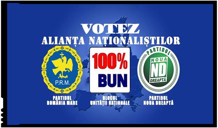 A fost înregistrată la Biroul Electoral Central alianța naționaliștilor români, Foto: facebook