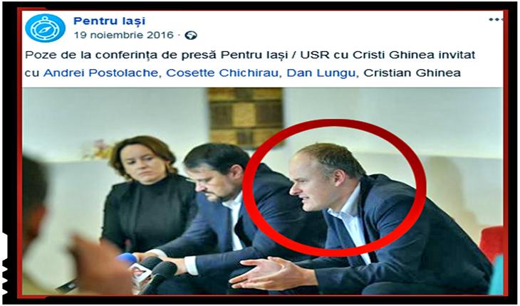 Telenovelă progresistă: a demisionat fostul președinte de partid al lui Cosette Chichirău! Ba nu! Ba da! Ba..., Foto: captura facebook.com/pentruiasi2016