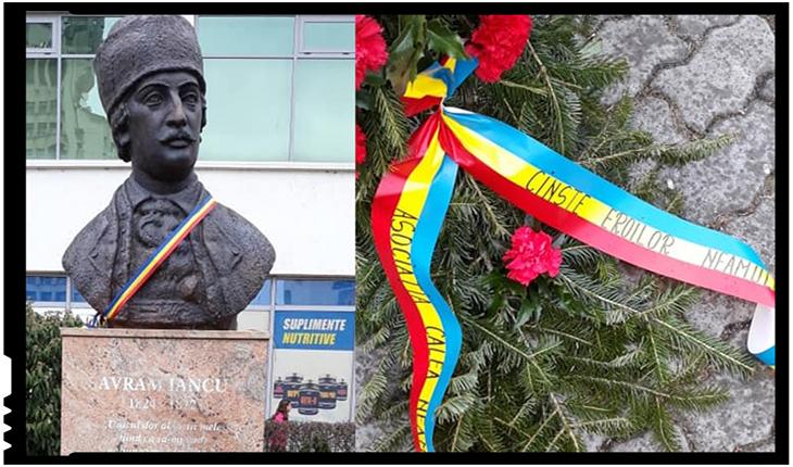 Și la Satu Mare a fost cinstită memoria lui Avram Iancu, Foto: facebook.com/CaleaNeamuluiSatuMare