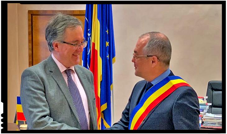 """Emil Boc: Indiferent de rezultatul """"procesului Brexit"""", Cluj-Napoca va intensifica relațiile de colaborare cu Marea Britanie, Foto: facebook.com/BritishEmbassyBucharest"""