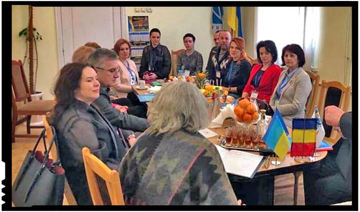 Cadrele didactice din Ucraina şi România s-au reunit la Cernăuţi, Foto: zorilebucovinei.com