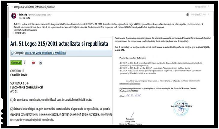 În Republica de la Carei, respectarea legii este facultativă, Foto: facebook.com/ciuta.ilie