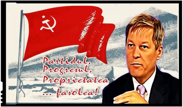 """George Mioc: """"PLUS-ul domnului Cioloș este o structură pur stalinistă, construită spre gloria marelui ei conducător"""""""