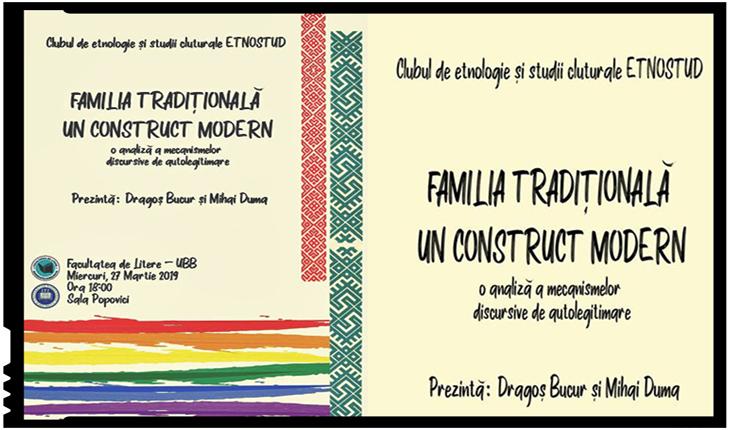 """Un club de etnologie preocupat de """"autolegitimarea"""" familiei tradiționale?, Foto: facebook.com/search/str/ETNOSTUD"""