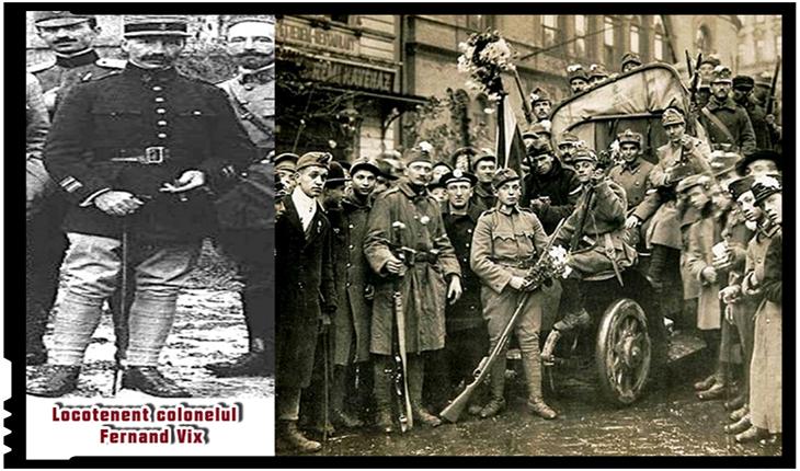 """La 6 martie 1919 Ungariei i se înmânează hotărârea """"Nota Vix"""" privind obligativitatea retragerii trupelor maghiare din Transilvania"""