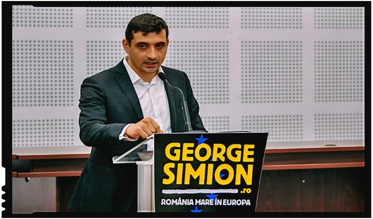 """George Simion: """"Cât de sigure sunt granițele României? O perspectivă românească despre Europa"""""""