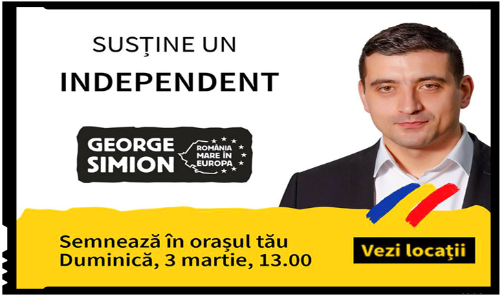 Ora independentului: Mobilizare generală în România, Republica Moldova și diaspora pentru George Simion
