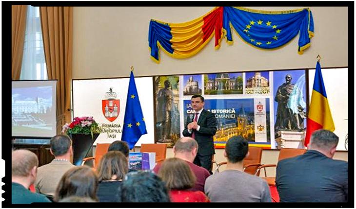 """""""Iași, o putere digitală în creștere"""", Foto: facebook.com/PrimariaMunicipiuluiIasi/"""