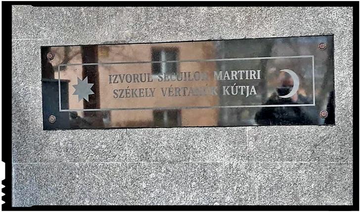 """Senatorul Marius Pașcan: """"Puteți bea apa de izvor a secuilor martiri, de sub însemnele separatiste"""", Foto: facebook.com/marius.pascan.10"""