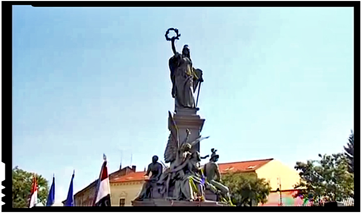 "Cum a devenit statuia unor criminali de zeci de mii de români, monument al ""Libertății""?, Foto: youtube"