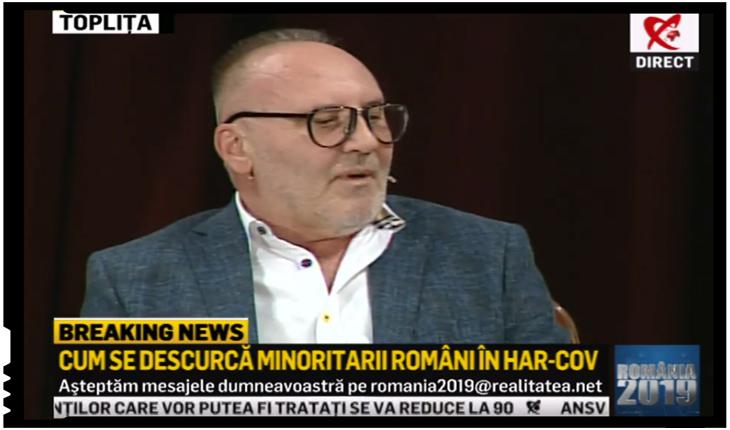 """Octavian Hoandră: """"Kovesi nu a putut vedea despre """"pedure cum fecut și furat"""" în Harghita și Covasna"""", Foto: Realitatea TV"""