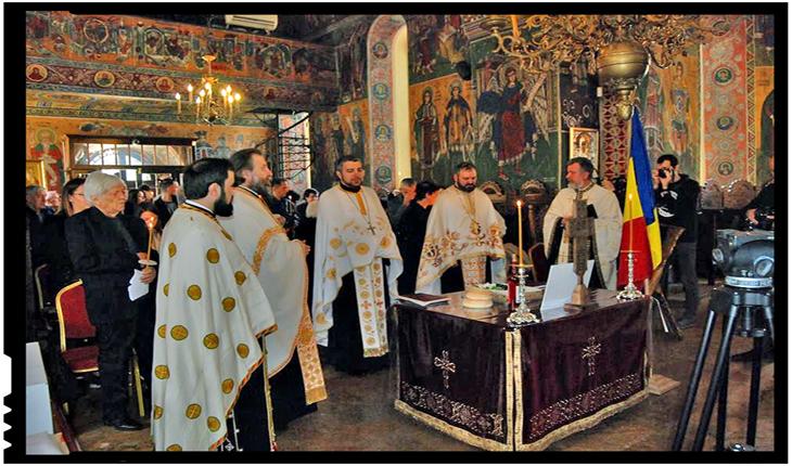 Martirii macedo-români din Balcani, comemorați la biserica Mavrogheni, Foto: Facebook / Societatea de Cultură Macedo-Română