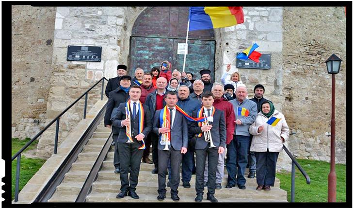 Unirea Basarabiei cu România, celebrată la Soroca, Foto: facebook.com/consiliuluniriisoroca