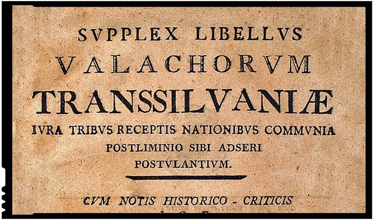 """La 28 martie 1791 românii ardeleni adresau memoriul """"Supplex Libellus Valachorum"""" către Curtea Imperială de la Viena"""