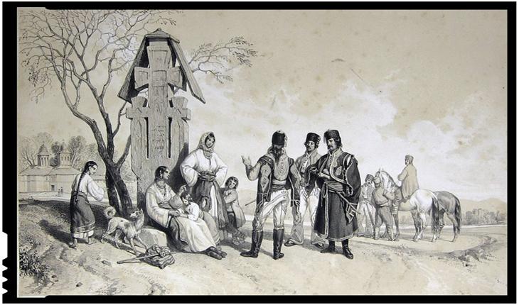 La 4 martie 1821 oastea lui Tudor Vladimirescu, supranumită Adunarea norodului, ocupa Slatina