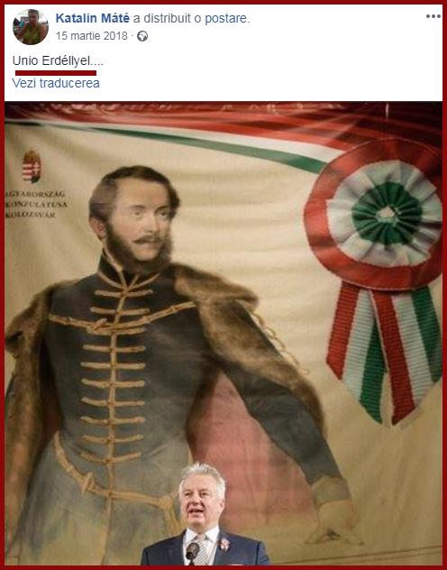 Propagandă revizionistă maghiară pentru ruperea Transilvaniei